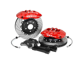 TEI Racing Big Brake Conversion Kits , Subaru 6 Piston BBK Brake Kit