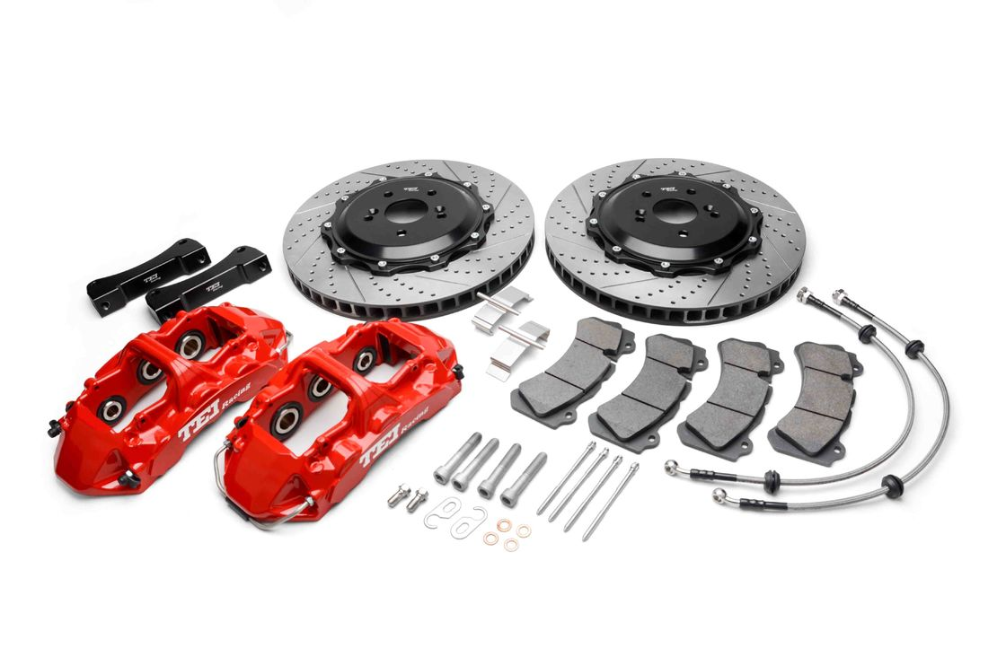 Six Piston TEI Racing Big Brake Kit Aluminum Alloy Made For Performance Cars