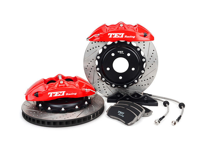 Anti Abrasion TEI Racing 4 Piston BBK Kit For Performance Cars Front Wheel