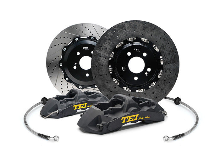 Wear Resistant TEI Racing Big Brake Kit Black Color For Racing