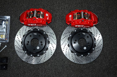 China Four Piston TEI Racing Big Brake Kit Stable Performance For Honda Civic factory