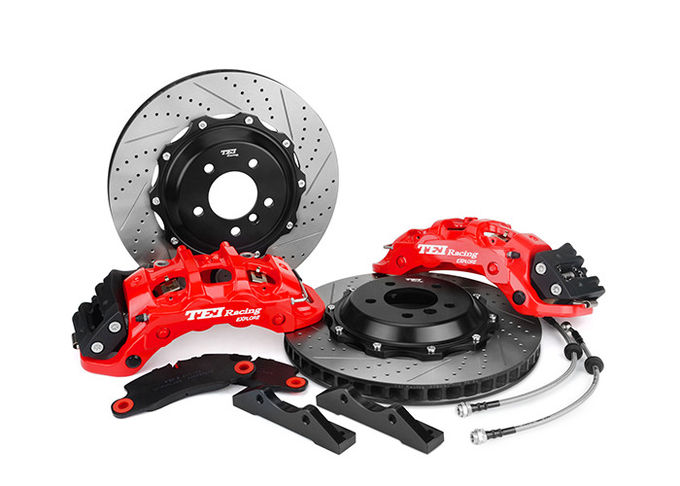 Durable TEI Racing Big Brake Kit , Rear Brake Kit Compatible With Benz / BMW / AMG / Audi